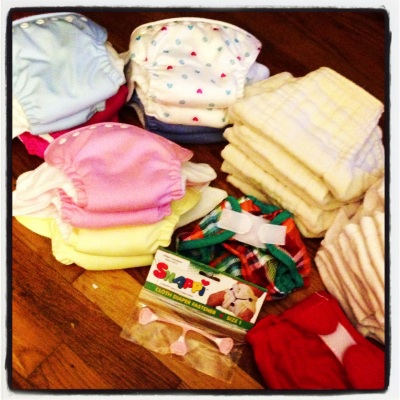 Our cloth diaper collection